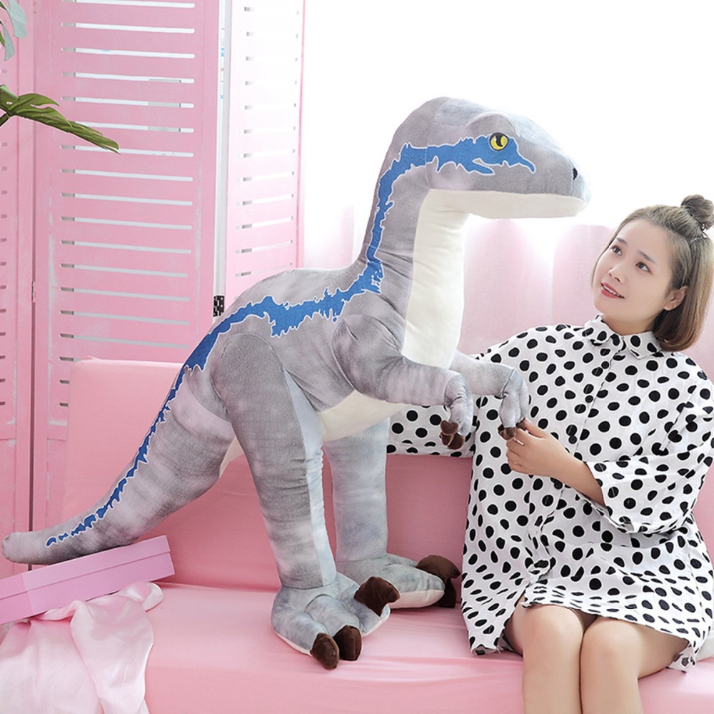 130cm Large Toy Cartoon Dinosaur Plush Toys Stuffed Animals Plush Tyrannosaurus Doll Toys for Children Birthday Gifts