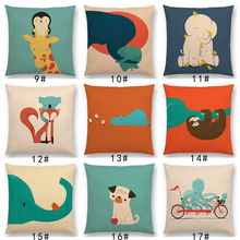 Cute Pillow Cases with Cartoon Animals
