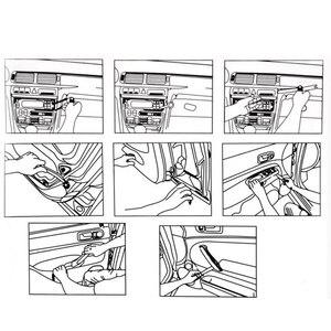 Image 5 - Kit doutils dinstallation de garniture de tableau de bord, 20 pièces, outils de suppression de Radio de véhicule, suppression du panneau de porte, unité centrale stéréo réelle, touches Audio, Navigation