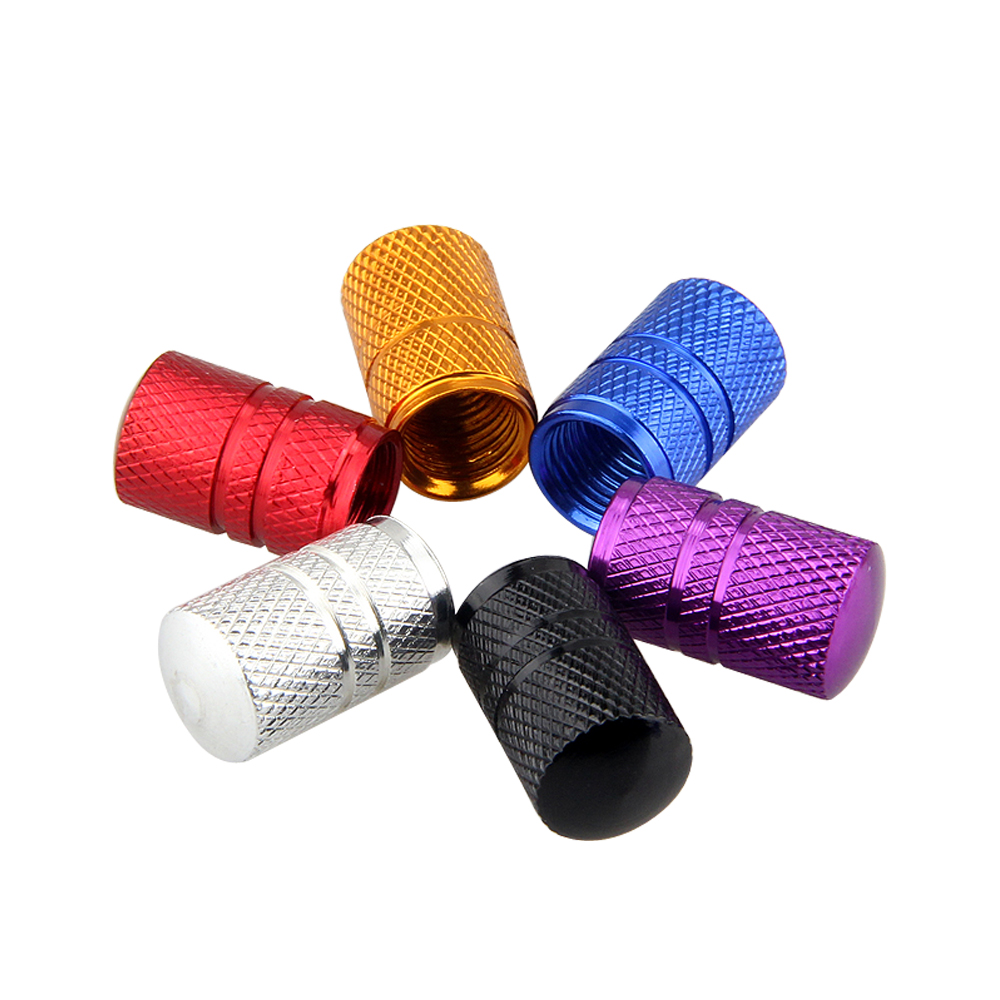 For BMW Mercedes Benz Chevrolet Toyota VW Toyota Nissan Universal Aluminum Car Tire Valve Caps Wheel Styling Bicycle Air Cap