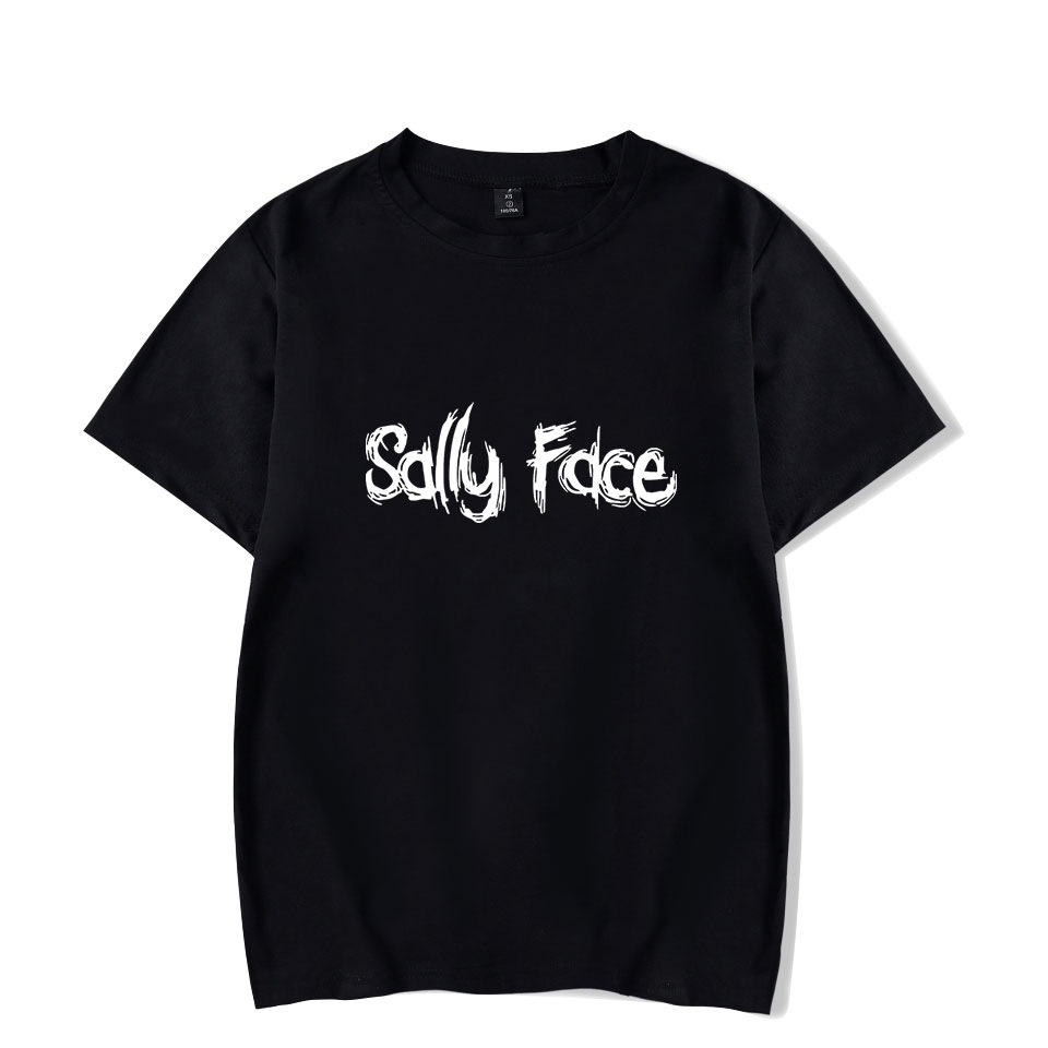 Game Sally Face T Shirt streetwear summer top unisex plus size tshirt short sleeve casual t-shirt camiseta tops tees image