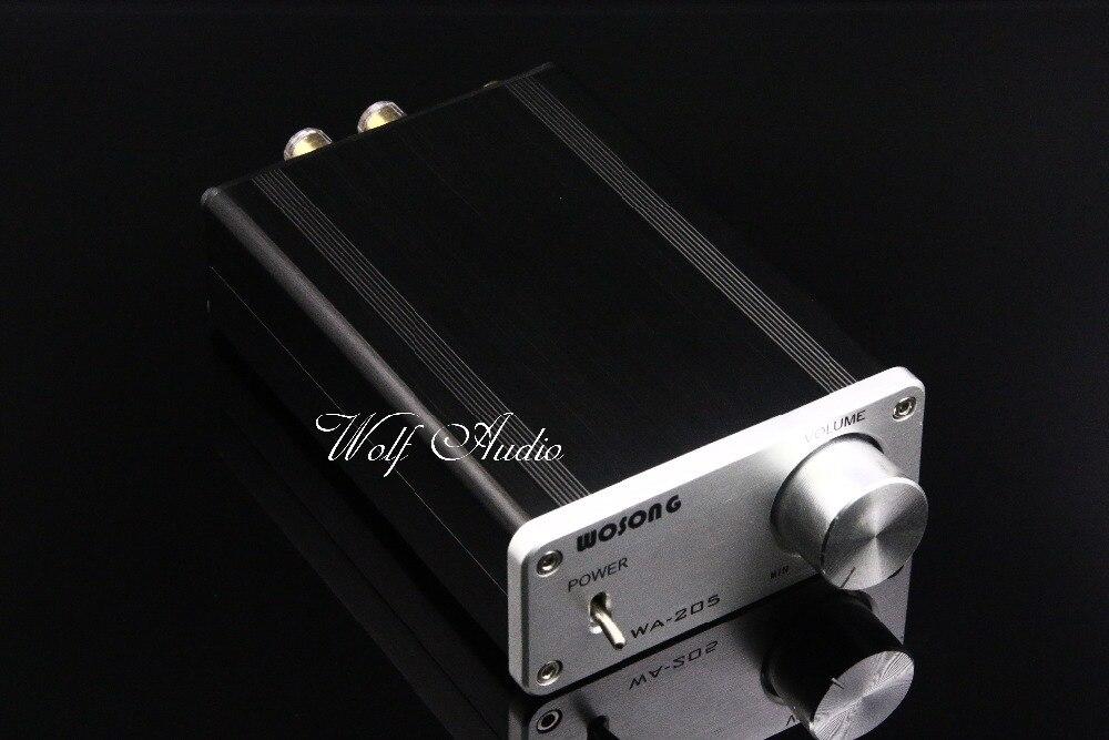 2017 Nouvelle Version WA-205 Puissance Amp Classe T 50 W + 50 W TK2050 HiFi Mini Audio Numérique Amplificateur