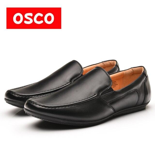 Оско фабрики всесезонные Новая мужская обувь модные повседневные мужские ботинки Лоферы драйвера и Обувь # ru0026/995202kn