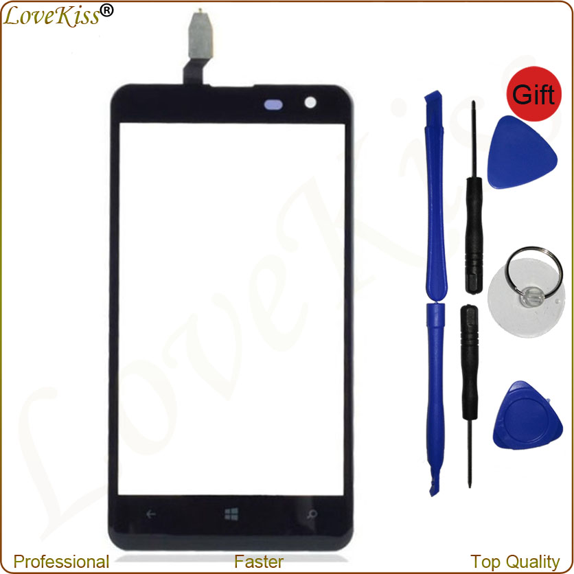 New Tested Front Panel Digitizer For <font><b>Nokia</b></font> <font><b>Lumia</b></font> <font><b>625</b></font> N625 4.7