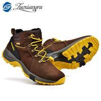 High Quality Men Hiking Shoes Waterproof Mountain Climbing Shoes Outdoor Hiking Boots Trekking Sport Sneakers Women