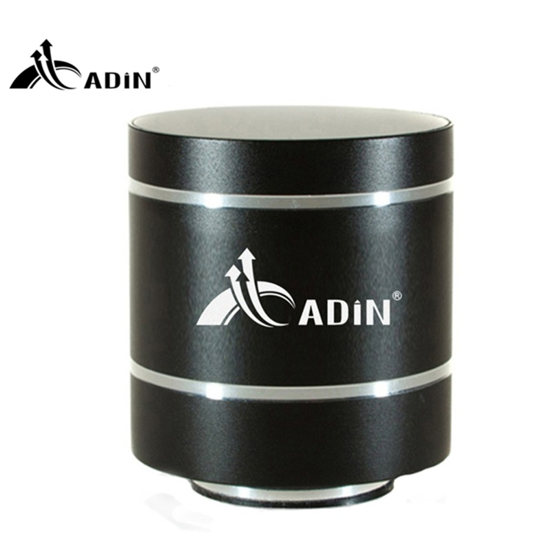 ФОТО ADIN 15W Vibration Mini Speakers Bluetooth Speakers FM TF Computer Phone Wireless Subwoofer Hifi 3D Vibration Speaker 1100mAh