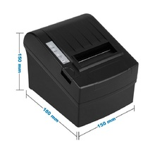 Wired 80mm USB thermal receipt printer with auto cutter 300mm/s print small ticket wholesale with a favourable price HS-802ULC