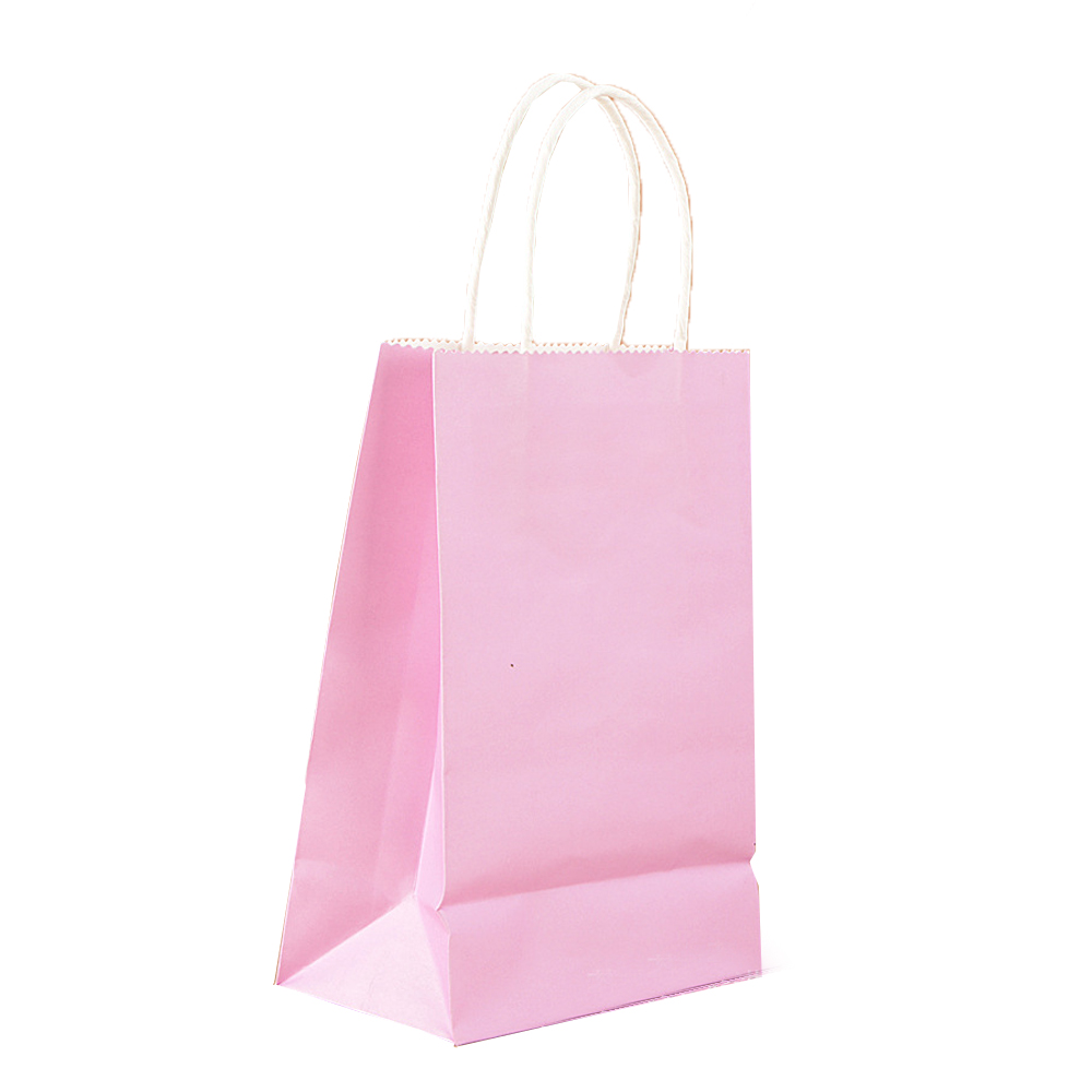 10pcs Small Paper Party Bags Gift Bag With Handles