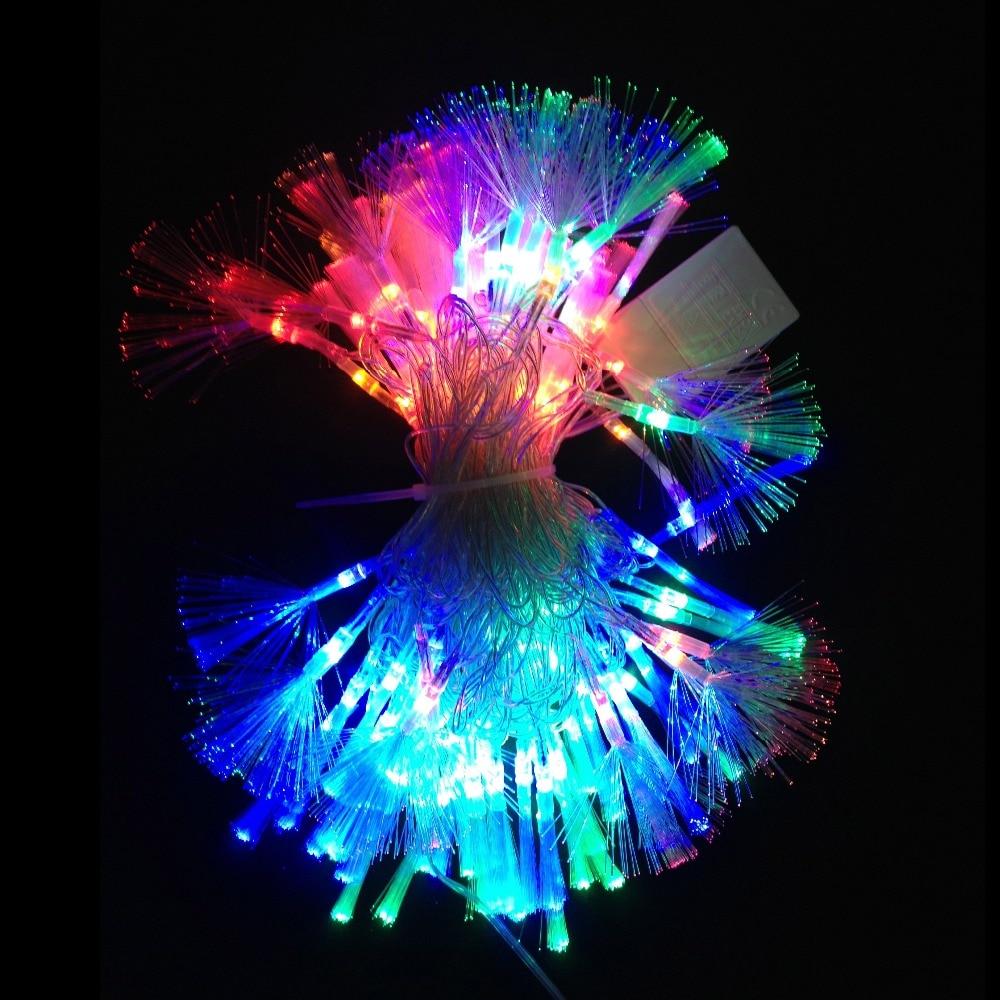 Fiber Optic Blossom Led String Lights Plug In Multi Color : Popular Fiber Optic Christmas Decorations-Buy Cheap Fiber Optic Christmas Decorations lots from ...