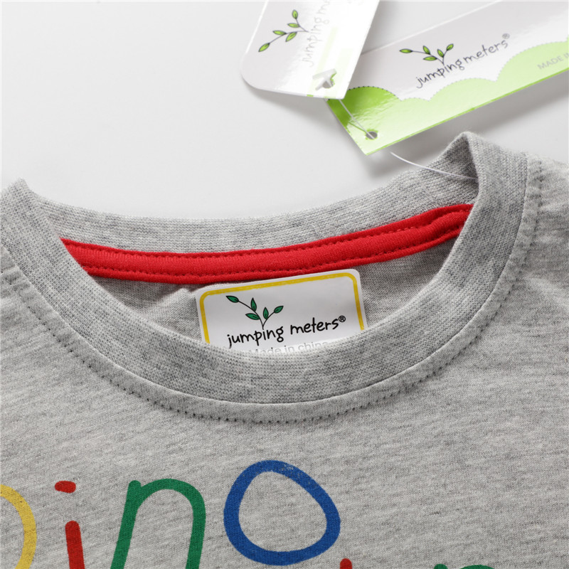 Children Boys T shirts Dinosaurs Print Cartoon t shirt for Boy Baby Clothing 100 Cotton Short Sleeve Tops Tees Shirt in T Shirts from Mother Kids