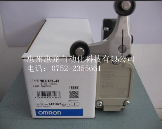 [ZOB] 100% new original OMRON Omron limit switch WLCA32-43 [zob] supply of new original omron safety door switch d4bs 35fs d4ns 4af substitute 2pcs lot