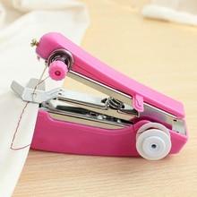 Useful Needlework Cordless Mini Handheld Clothes Sewing Machines Tool