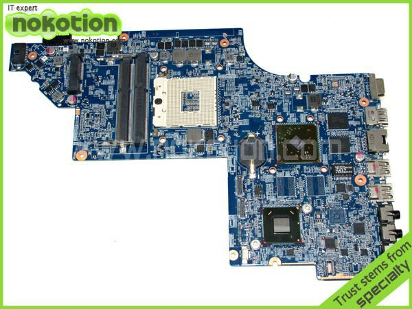 NOKOTION 630881-001 LAPTOP MOTHERBOARD for HP DV6 HPMH-41-AB6200-D00G DDR3 Mainboard Mother Boards Free Shipping nokotion hot sale 603643 001 laptop motherboard for hp dv6 4000 hm55 fully tested mainboard mother boards da0lx6mb6f2