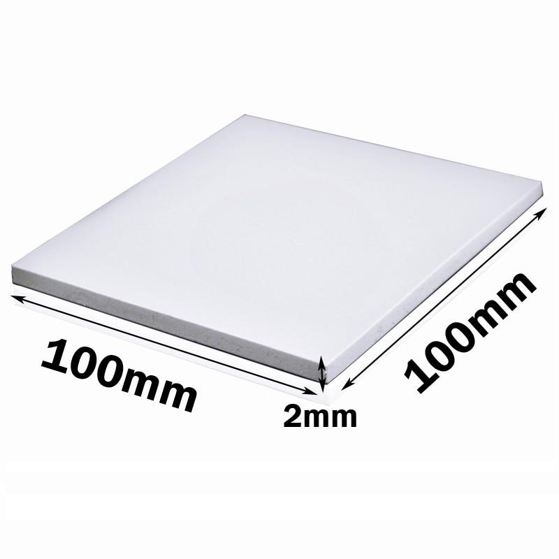50Pcs Gdstime 100x100x0.5 MM 100mm CPU GPU DIP IC Chip Cooling Heatsink Silicon 0.5mm Thermal Pad