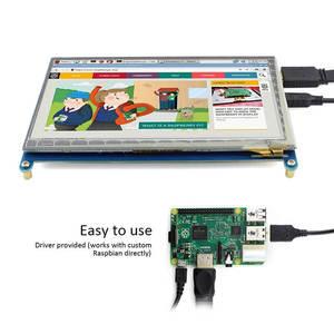 Image 3 - Elecrow Raspberry Pi 3 Display 7 Inch Touch Screen HDMI HD LCD TFT 1024X600 Monitor 7inch RPI Display for Raspberry Pi 3 2B B