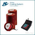 Restaurante wireless sistema de gestión de colas (Un transmisor y 20 buscapersonas invitado)
