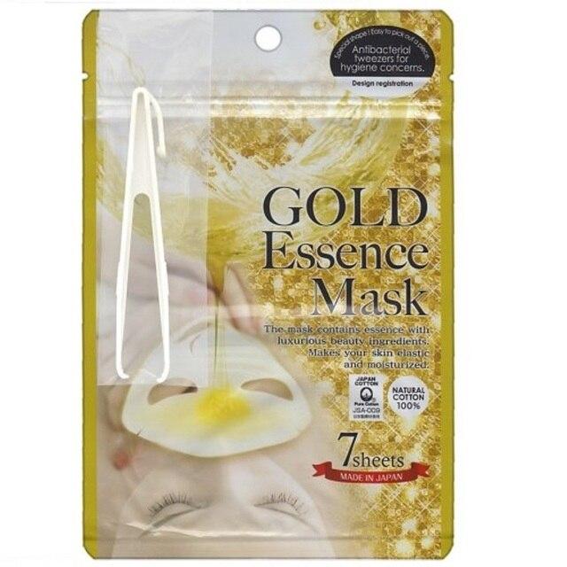 Маска JAPAN GALS для лица Japan Gals с «золотым» составом Essence Mask 7 шт