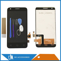 Black Color High Quality LCD Display Touch Screen For Alcatel OT4027 1PC Lot Free Shipping