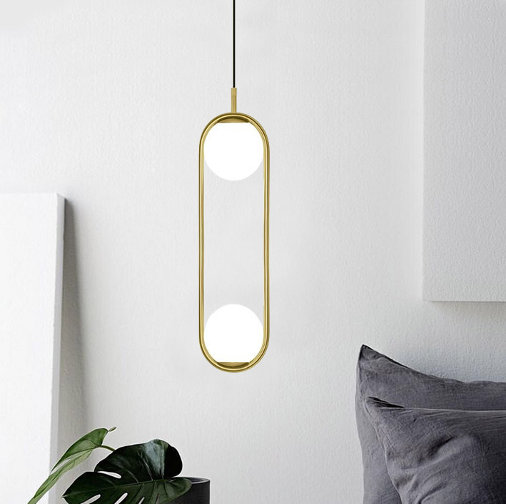 Modern iron ring Pendant Lights white glass ball CafeRoom/Bar Lamp Single Glass Pendant Lamps Decoration Indoor Lighting modern creative colorful wine bottle pendant lights caferoom bar lamp single glass pendant lamps decoration indoor lighting