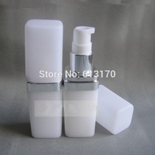 15ml Empty Lotion Pump Bottle , Shampoo Shower Gel Bottles White Travel  Refillable Container Free Shipping