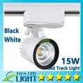 Dhl atacado varejo 15 W COB Led faixa de luz Led Spot lâmpada de parede, Controle AC 85 - 265 V iluminação Soptlight frete grátis
