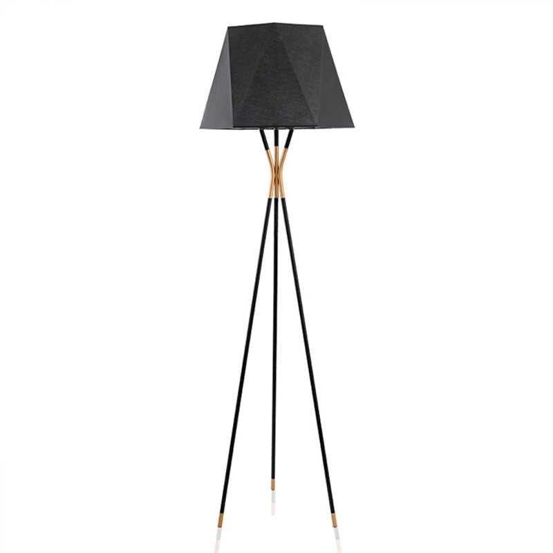 アメリカスタイルシンプルさとレトロフロアランプ立ち staande ランプ led 北欧リビングルーム vloer ランプ