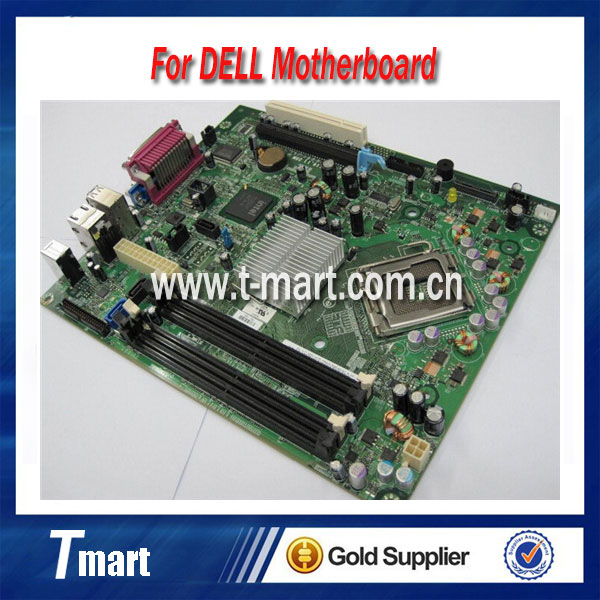 ФОТО 100% working For DELL 755 SFF Q35 PUO52 CN:0PU052 desktop motherboard fully tested
