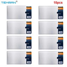 10 Pack Irf Manches Anti Vol RFID Carte Protector Irf Manches Identité Anti-Scan Carte Manches(China)