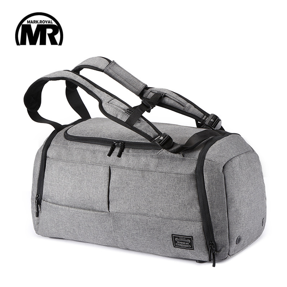 MARKROYAL Multifunctional Travel Bag Organizer Trolley Duffle bag Carry on luggage Weekend Bag For Men large Capacity Backpack