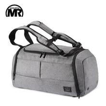 MARKROYAL Мултифункционална туристическа чанта Организатор количка Duffle чанта Носете багаж Уикенд чанта за мъже голям капацитет раница