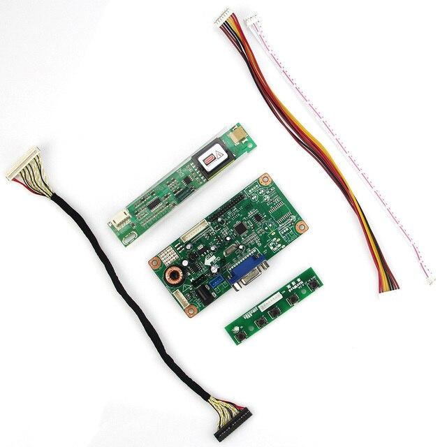 Управления Водитель Борту VGA Для LTN156AT01 B156XW01 V.2 LVDS Монитор Повторное Ноутбук 1366x768