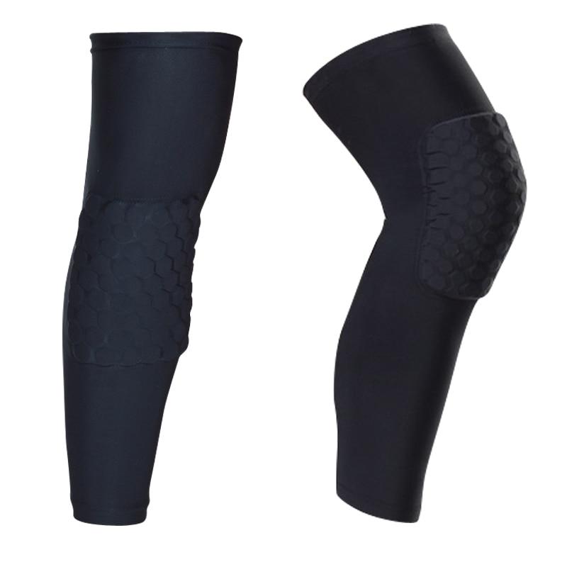 Sinnvoll Hot 1 Pc Logo Nach Waben Gepolsterte Socke Sport Sicherheit Basketball Kneepad Compression Sleeve Knie Klammer Beschützer Knie Pad