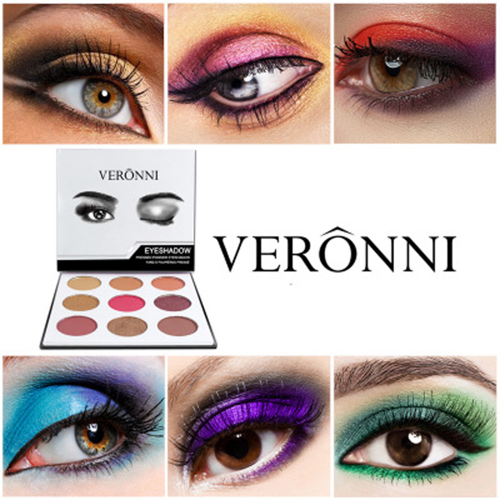 Matte Long Lasting Colorful Eyeshadow Eye Shadow Press Powder Cosmetics Makeup sombras de ojos profesional 40*