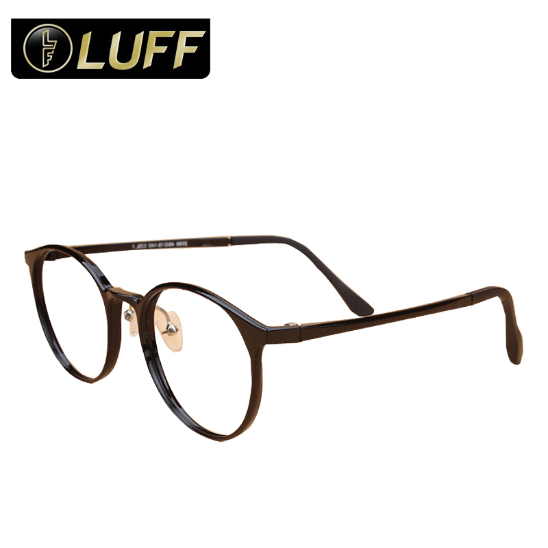 fashion eye glasses frame for women eyewear full frame glasses round plate frame ultralight cheap