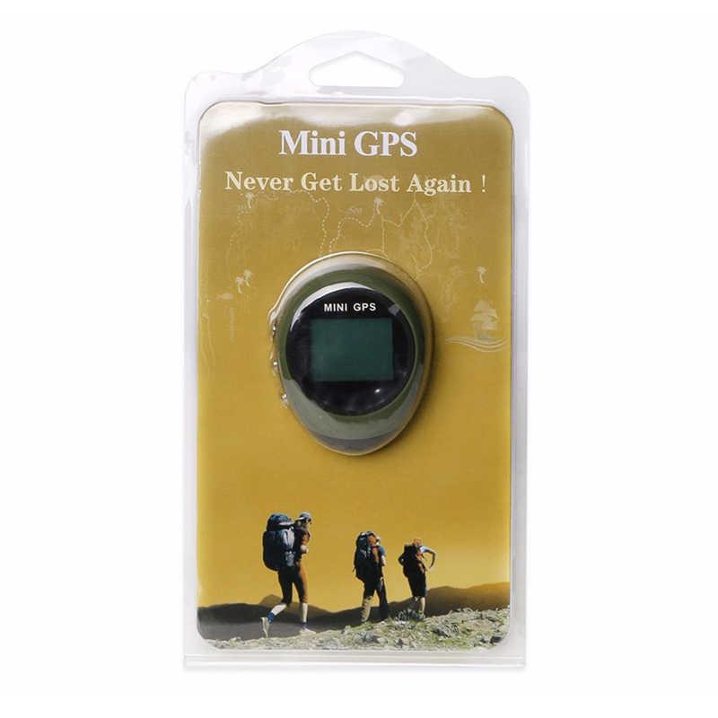 Mini GPS Tracker Vị Trí Receiver Keychain GPS Định Vị Thiết Bị Cầm Tay Vị Trí Công Cụ Tìm USB Có Thể Sạc Lại La Bàn Ngoài Trời Thể Thao