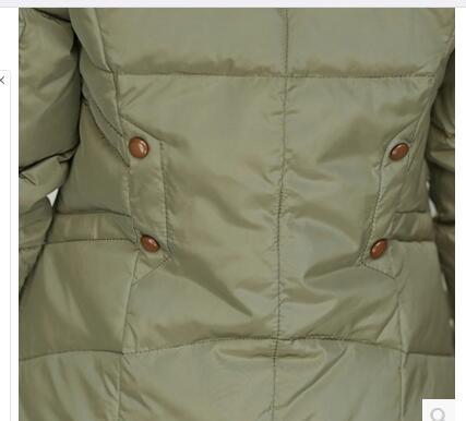 Longue L Manteau Plein Slim Green De Cheveux Mère Lourd En Chantiers Collier D'hiver kaki Noir army Édredon Femmes Coton Grands rouge Air Dernières Capuche 4xl Uaq4EIn