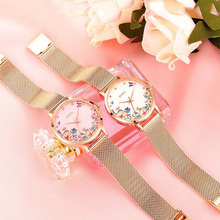 New Ladies Dress Watches Luxury Rose Gold Watch Women Top Brand Stainless Steel Quartz Wristwatches Designer Clock montre femme belbi brand fashion women stainless steel bracelet wristwatches ladies dress watches clock casual quartz watch montre femme