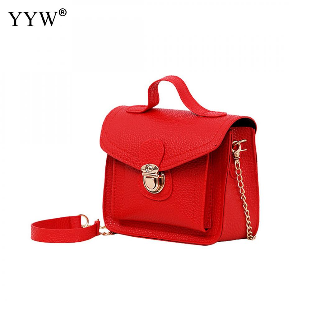 YYW High Fashion Women Messenger Bags Pu Crossbody Bag Women Famous Brands Designer Woman Leather Handbags Purses