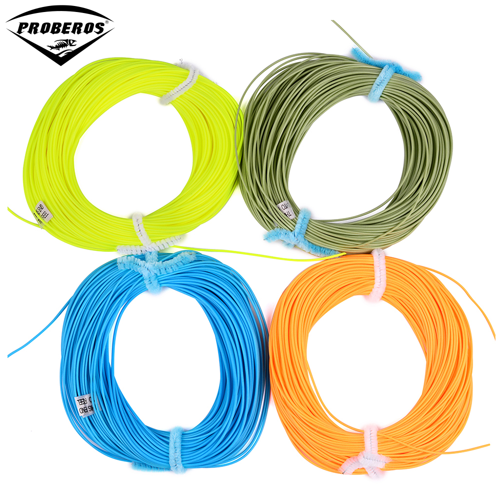 100ft weight forward fly fishing line wf 2f 3f 4f 5f 6f 7f for Fly fishing line