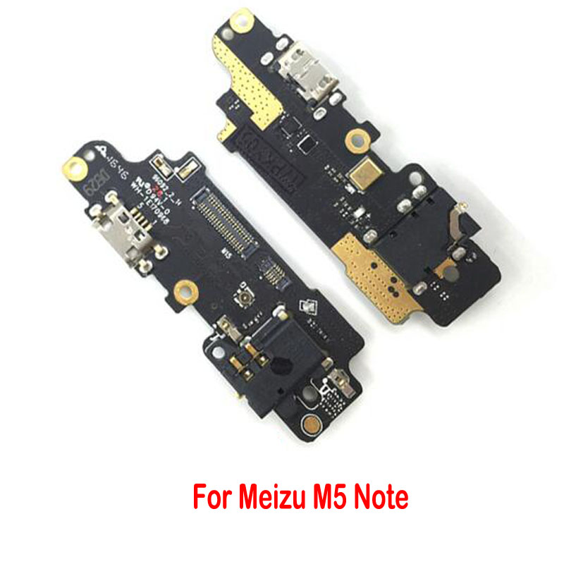 1pcs For Meizu M5 Note Dock Connector Micro USB Charger Charging Port Flex Cable Repair Parts