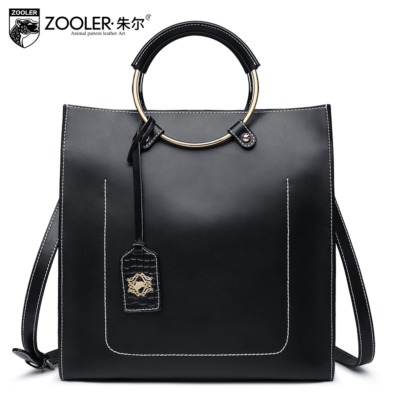 2018 Genuine leather woman bag ZOOLER top handle handbag luxury shoulder bags famous brand soft cowhide tote bolsa feminina 6988 pre sell zooler hot 2017 new women leather bag woman leather bags top handle 100% cowhide large capacity bolsa feminina c130