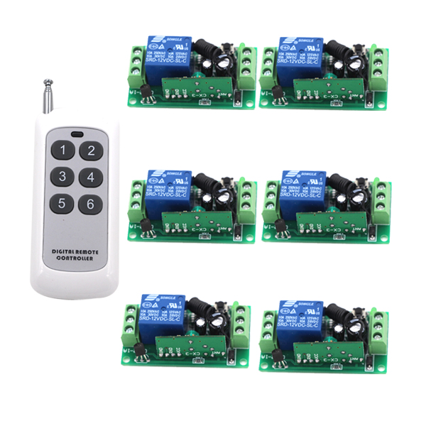 24v 1ch rf wireless remote switch wireless light Lamp LED switch Receiver & Transmitter 315/433 Remote ON OFF Controller small ac220v remote control switch long range transmitter receiver 200 3000m lamp light led remote lighting switch 315 433 92mhz