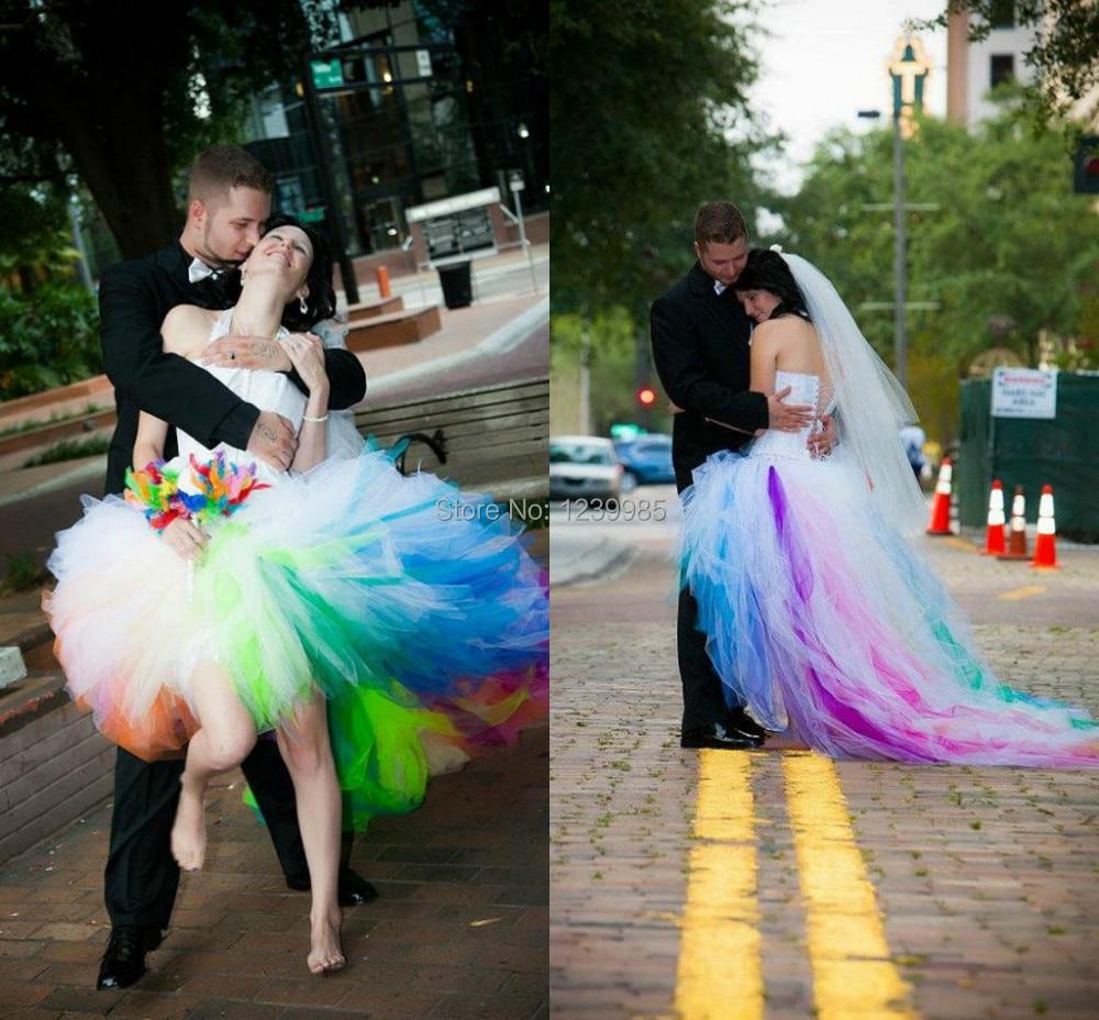 short poofy wedding dresses short tulle wedding dress Short poofy wedding dresses photo 2