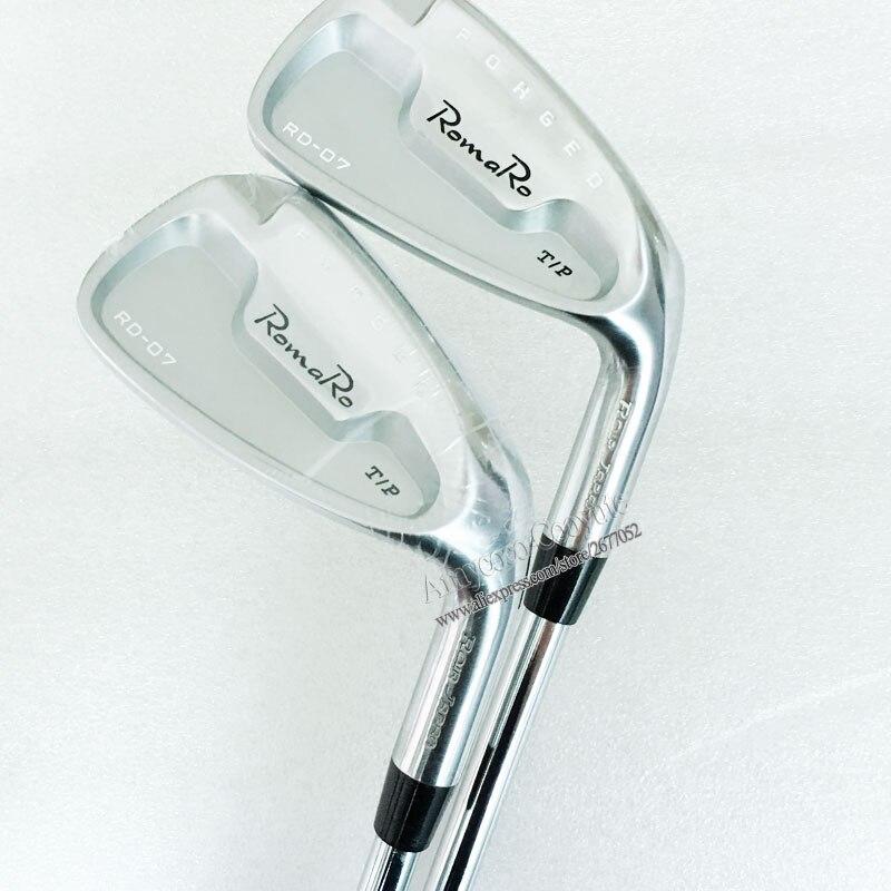 Cooyute New Golf Clubs RomaRo RD-07 Golf Irons set 4-9P Project X 5 5 Steel Golf shaft Clubs Golf set Free shipping