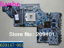 For HP DV6 DV6-6000 659147-001 Laptop motherboard 100% Tested Free Shipping