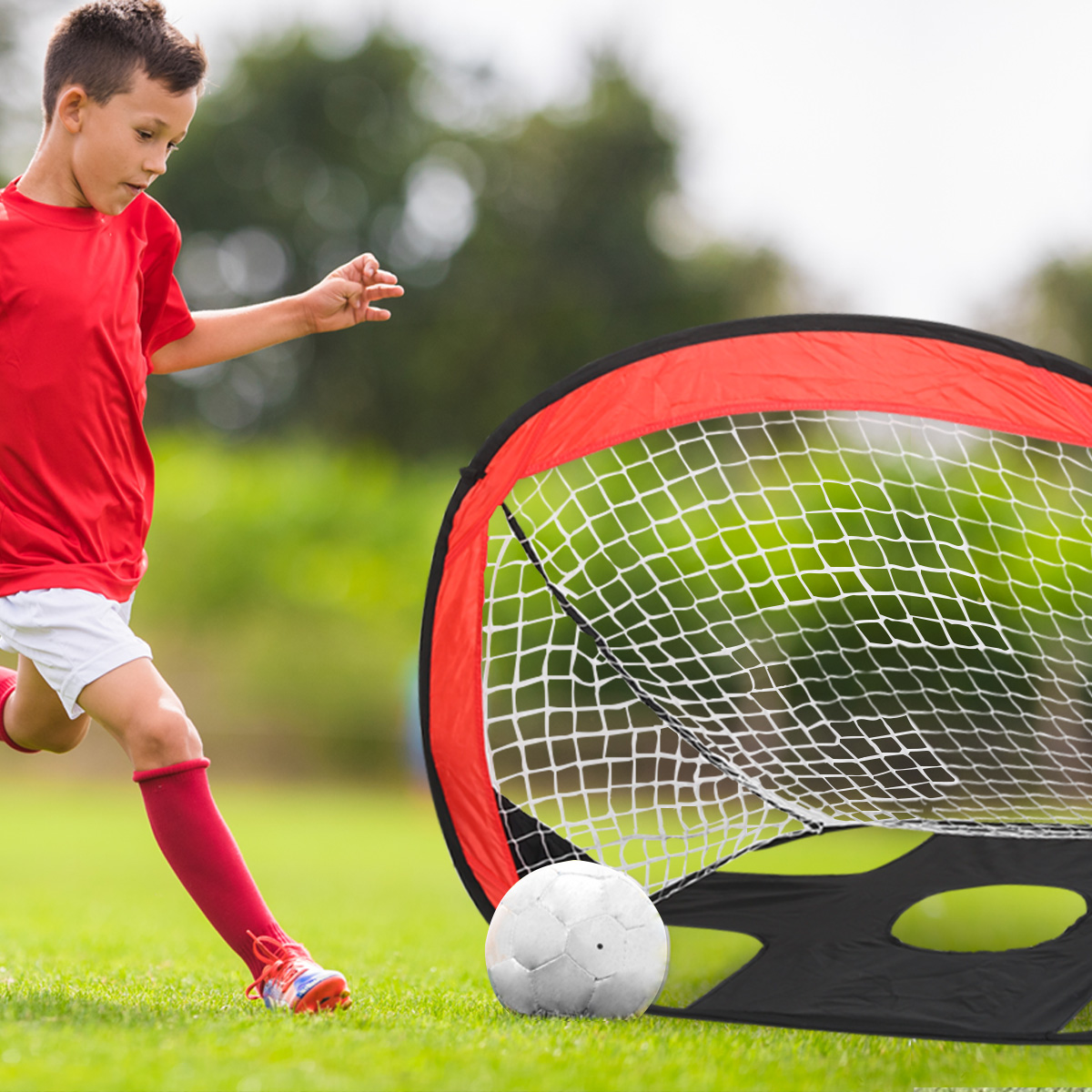 Aliexpress Com Buy G319 Soccer Shooting Custom: Aliexpress.com : Buy Football Goal Set Teenager Durable