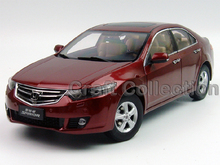 Red 1/18 Honda SPIRIOR (Accord Euro) Alloy Metal Car Miniature Model