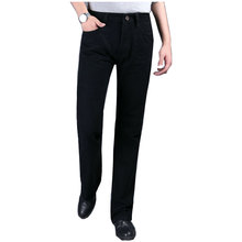 Autumn Mens Black Jeans Size 28 to 38 Jeans Flare Bell Bottom Flare Boot Cut leg Slightly Pants Trousers for Men