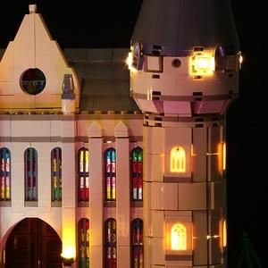 Image 5 - Led ışık seti uyumlu Lego 71043 Harry film 16060 yaratıcı Hogwarts kale yapı taşları tuğla oyuncaklar (sadece led ışık s)