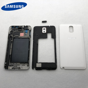 Image 3 - חלקי דיור מלא עבור Samsung Galaxy הערה 3 N900 N9005 N9006 קדמי LCD מסגרת חזרה כיסוי note3 חזרה סוללה כיסוי אמצע מסגרת